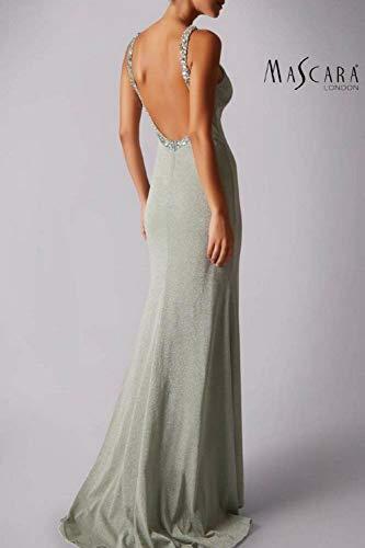 Glittery Mascara Malva Dress Schienale Mc186041 Basso Prom AA4aE