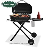 Blue Rhino GTC1205WHL Tailgate Propane Barbecue Grill with Foldable Cart