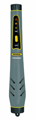 General Tools PNG2000A Natural Gas Detector Pen - Carbon Monoxide Detector Natural Gas