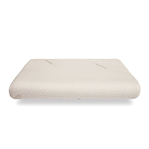Savvy Rest Organic Mattress (Contour Hypoallergenic Pillows - Lo Profile intelliPILLOW - Made of Cool intelli-GEL - Soft Touch - Best Cooling Pillows for Neck and Head Support & Side Sleepers - by intelliBED)
