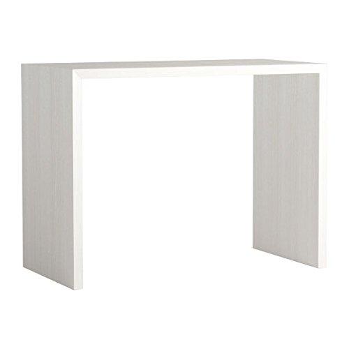 arne カウンターテーブル バーテーブル セミオーダー 日本製 幅120cm 奥行60cm 高さ90cm コの字 テーブル デスク 勉強机 会議用テーブル Zero-X 12060HH ホワイトウッド B079L11BFN 幅120×奥行60,ホワイトウッド