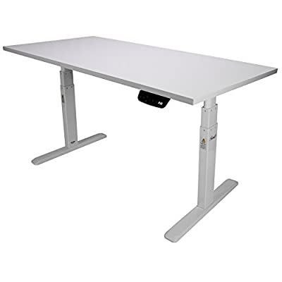 Rosewill Electric Standing Desk Frame & Wood Table Top