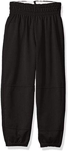 Wilson Youth Basic Classic Fit Baseball Pant, Black, Small