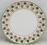 Mottahedeh Strawberry Vine Bread & Butter Plate