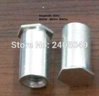 Nuts BSOA-6440-10 Blind Threaded standoffs, aluminum6061, Nature,PEM Standard,in Stock,