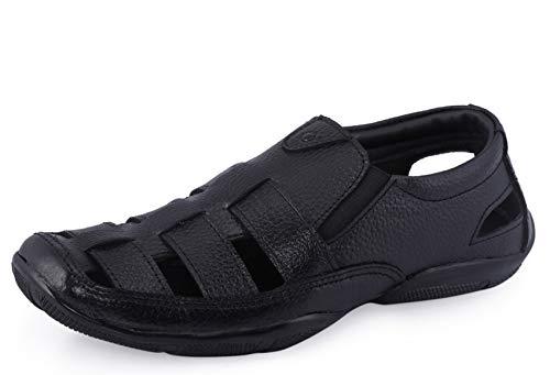 Lazard by Khadim's Men's Brown Casual Slip-On Sandal