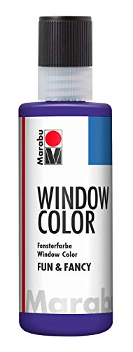 Marabu Window Colour Fun and Fancy Paint 80ml - 251 Violet