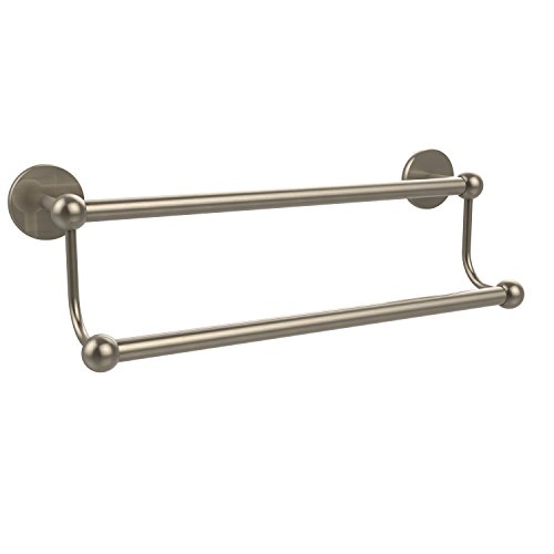(Allied Brass P1072/30-PEW 30-Inch Double Towel Bar, Antique Pewter)