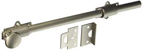 Deltana 12SB15 HD Solid Brass 12-Inch Surface Bolt ()