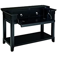 Ashley Furniture Signature Design - Greensburg Sofa Table - 2 Drawers and 1 Fixed Shelf - Vintage Casual - Black