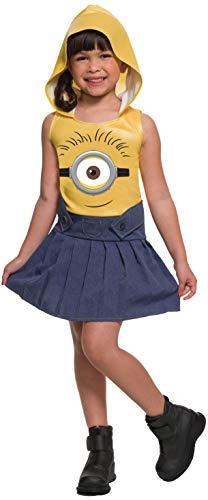 (Rubie's Minion Face Hooded Dress,)