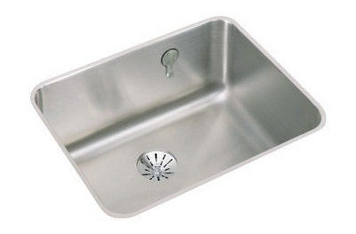 Elkay ELUH211510PDK Gourmet Perfect Drain E-Dock Kitchen Sink, 23.5'' x 18.25'' x 11.5'' by HM Wallace