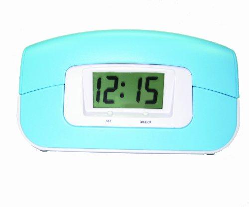 Sylvania Alarm Clock Phone with Blue Rubberized Finish (ST884-Blue)