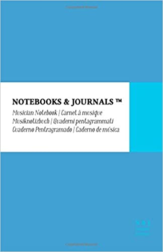 2d0df27e0862f Notebooks & Journals Musiknotizbuch, Large, Himmelblau, Soft Cover ...