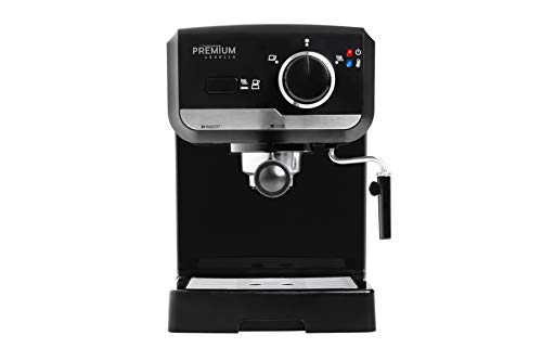15 Bar Espresso Machine, Premium Lavella, Espresso and Cappuccino Maker with Stainless Steel Milk Frother, PEM1505B…