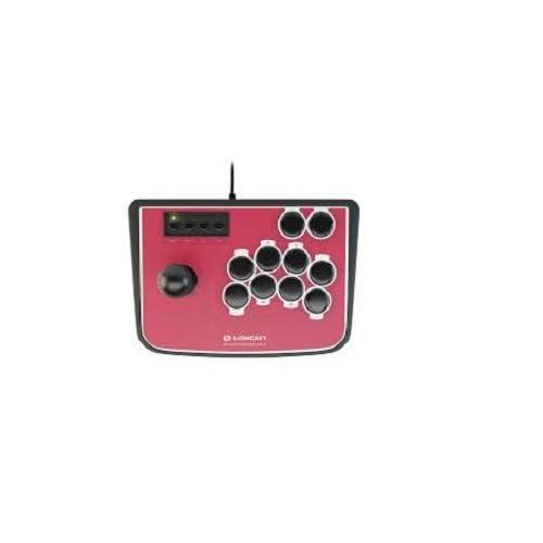Lioncast Arcade Fighting Stick Controlador Joystick Para PS2, PS3, PC, Negro