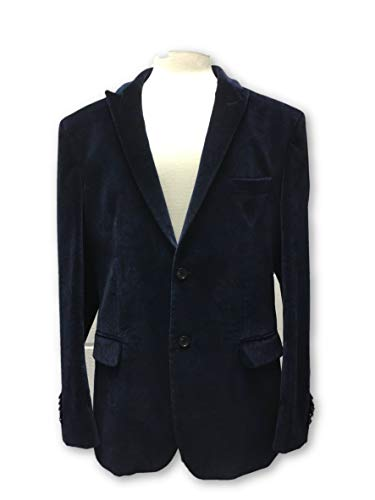 Rrp 38 £388 Circle In Paisley Of Blue Velvet 99 Blazer Gentlemen ZnqnRxA8T