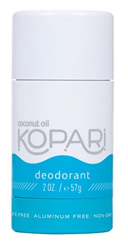 Kopari Aluminum-Free Deodorant | Non-Toxic, Paraben Free, Gluten Free & Cruelty Free Mens and Womens Deodorant | Made with Organic Coconut Oil | 2.0 oz