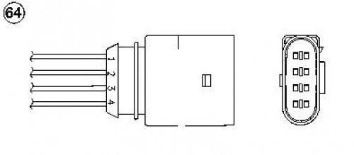 NGK 1809 lambda Sensors: