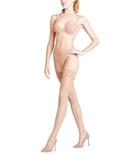 FALKE Damen Stay-Ups, ultra-transparent (3er Pack)