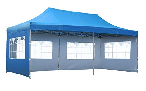 HYD-Parts Outdoor Patio 10x20 Ft Pop up Canopy Party Wedding Gazebo Tent (10x20 Ft (07), White)