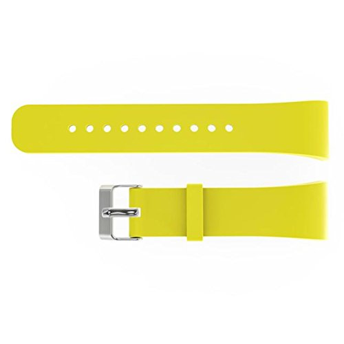 BIYATE Quick Release Watch Band Compatible for Samsung Gear Fit 2 SM-R360,Men