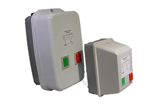 (Magnetic Motor Starter Control 15hp 3ph 208v 34-50A Overload New )
