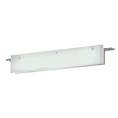 13 Sonneman Suspended Glass - Sonneman 3214-13LED LED Bath Bar, Silver