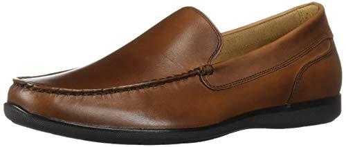 Dockers Men's Lindon Loafer, Antique Brown, 12 M US Antique Brown Leather Footwear