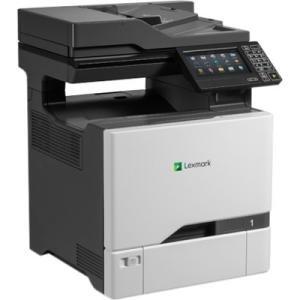 Lexmark - 40C9501 - Lexmark CX725dhe Laser Multifunction Printer - Color - Plain Paper Print - Desktop - Copier/Fax/Printer/Scanner - 50 ppm Mono/50 ppm Color Print - 1200 x 1200 dpi Print - 1 x Input