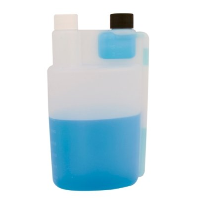 32 oz. Bettix Bottle with 1/2 & 1 oz. Dispensing Chambers & 28/410 Neck (2 Bottles)