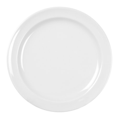 Excellante 12-Piece Dinner Plate, 8-Inch, White - Collection 8 Piece Dinner Plates