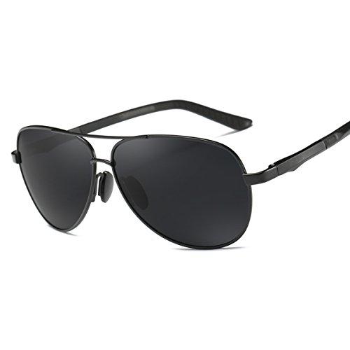 De Magnesio Hombres De E210 NEGRO Sol Polarizadas amp;GRIS Mujeres Gafas De Aluminio ELITERA Aleación ZYwzSdqz