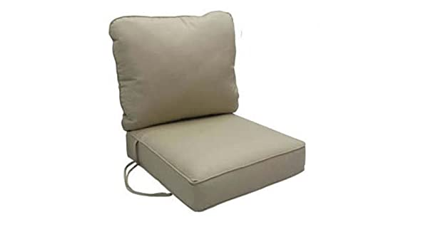 Custom Outdoor Furniture Cushions.Amazon Com Outdoor Custom Cushions 6 Thick Foam Filled 2