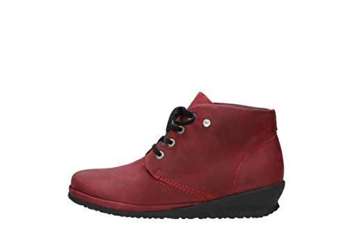 À Comfort Chaussures 11530 Sacramento Lacets Nubuck Bordeaux Wolky qHRfEwdq