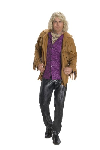 Hansel Zoolander Costume, Multi, -