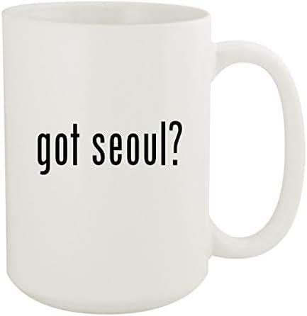got seoul? - 15oz White Ceramic Coffee Mug