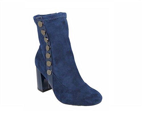 SKOS Damen Stiefel & Stiefeletten Blue (s9775)