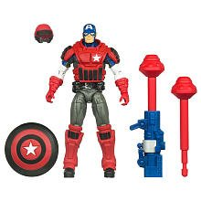Marvel Captain America With Swat Armor