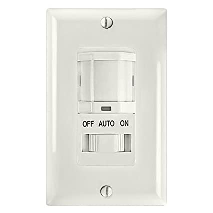 Intermatic ios-dsif-wh PIR sensor de movimiento interruptor