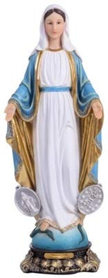 Florentine Our Lady of Grace 16 Inch Miraculous Medal Statue (Our Lady Miraculous Medal Statue)