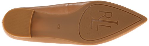 Lauren Ralph Lauren Womens Sally Ballet Flat Light Pelle Nappa