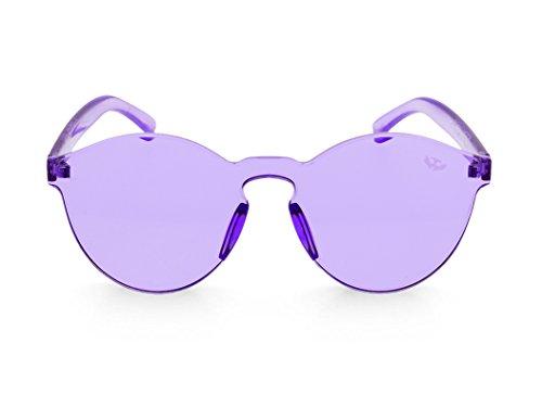 Sunglasses CANDY modelo NEGRA montura transparentes Negra Mosca Gafas PURPLE gruesa MOSCA nqaw58FYxX