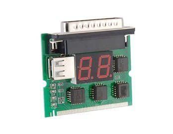Mini Computer Motherboard PCI 2 Bits Debug Card