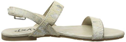 Cinturino Alla Caviglia Donna Sandalo Xyxyx Argento (argento / Beige)