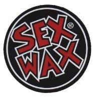 Sex Wax Die Cut Circular Decal Sticker (Red) (Sex Wax Sticker)