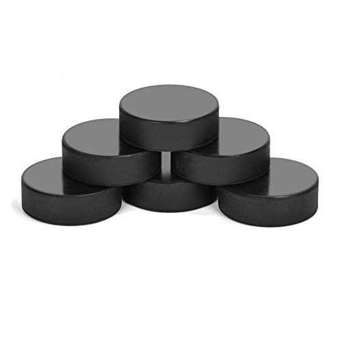 Ice Hockey Pucks for Practicing and Classic Training, Official Regulation, 6oz Diameter 3