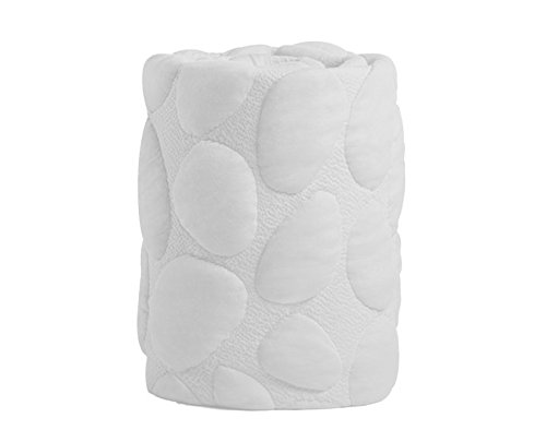 Nook Sleep Systems Pebble Pure Crib Removable Mattress Wrap Cover, 100% Organic, Soft, and Breathable, Cloud ()