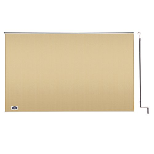 Cool Area 8' X 6' Exterior Cordless Roller Shade in Color Desert