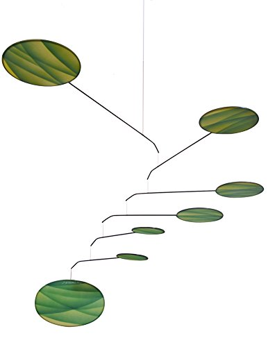 Green Canopy Modern Indoor Mobile, Horizontal Style, 22'' x 42'', American Made by Modern Artisans (Image #6)